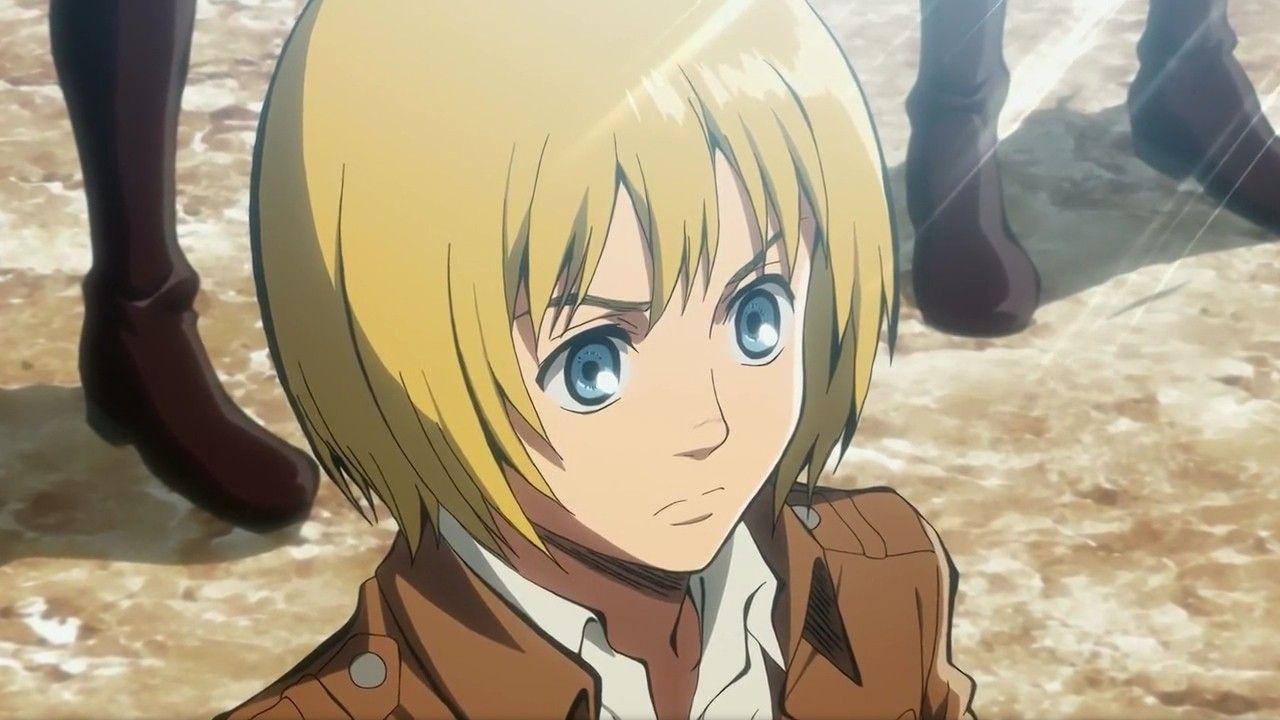 Armin Arlet from season 1 Armin, Attack on titan, Anime