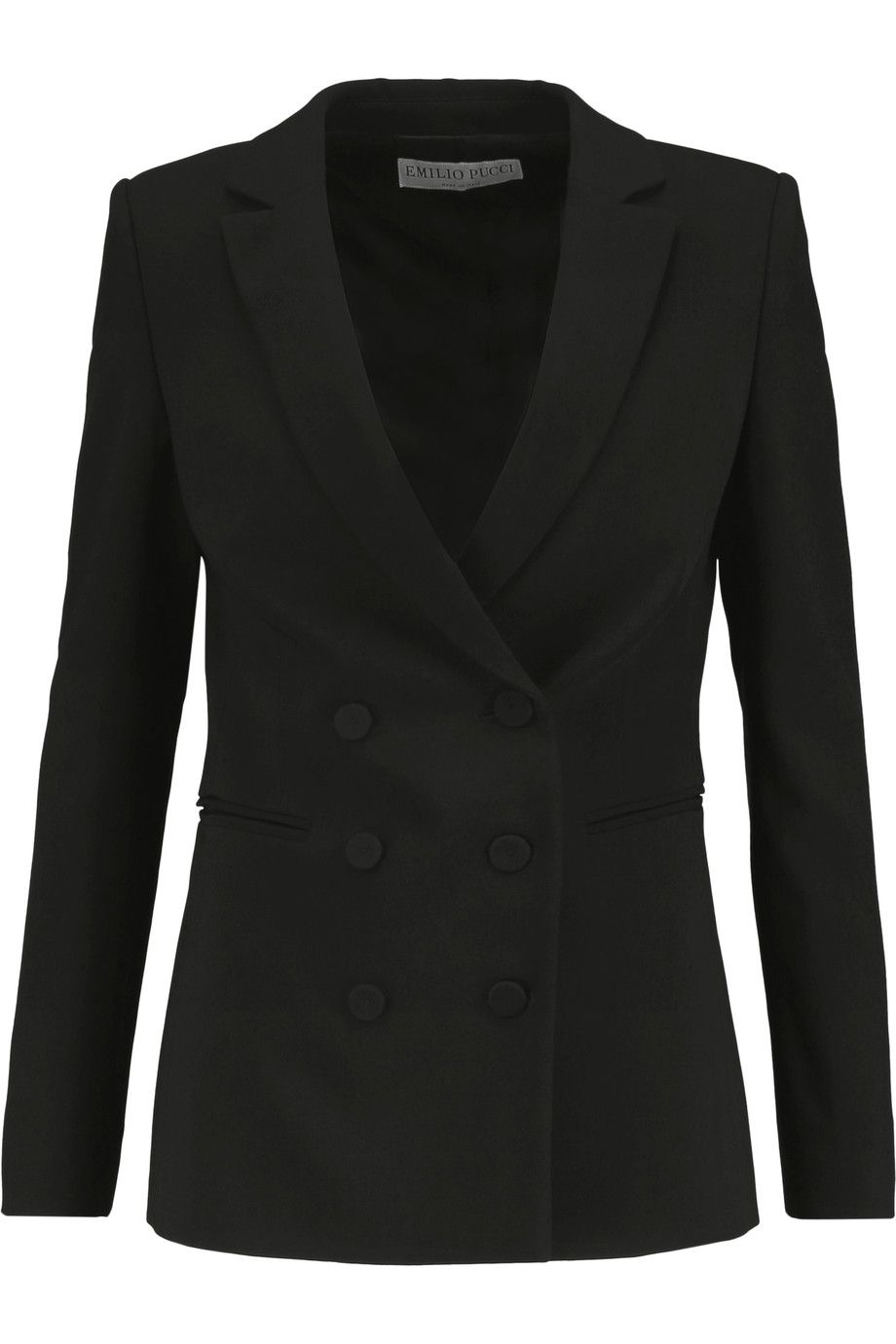 Shop on-sale Emilio Pucci Crepe blazer. Browse other discount designer Jackets & more on The Most Fashionable Fashion Outlet, THE OUTNET.COM