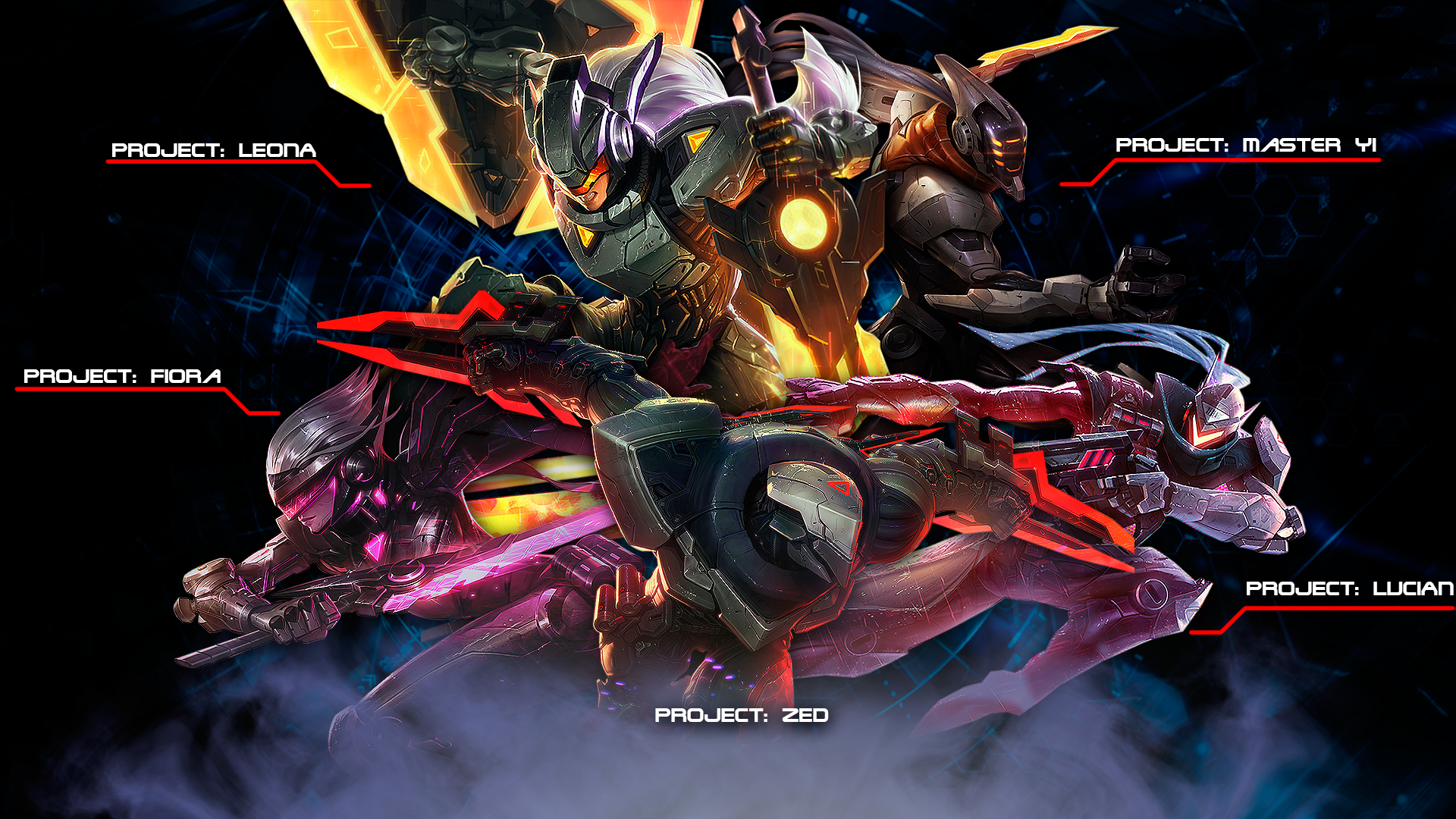 Project Zed Splash Art