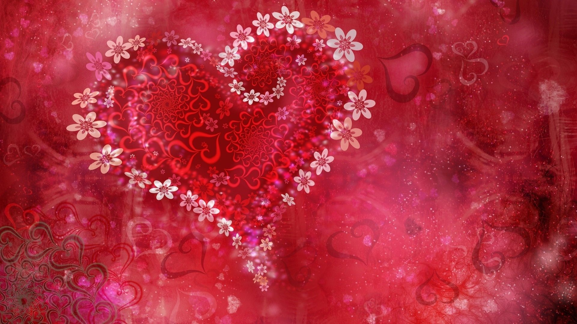 10 New Heart Wallpapers Free Download Full Hd 1080p For Pc Background Heart Wallpaper Flower Heart Valentines Wallpaper