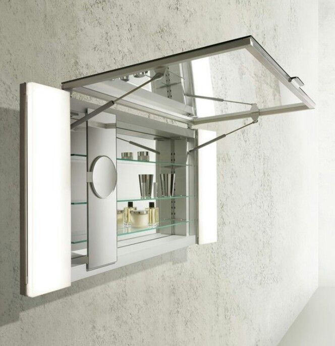 Mirror Cabinet With Flip Up Door Mirror Cabinets Medicine