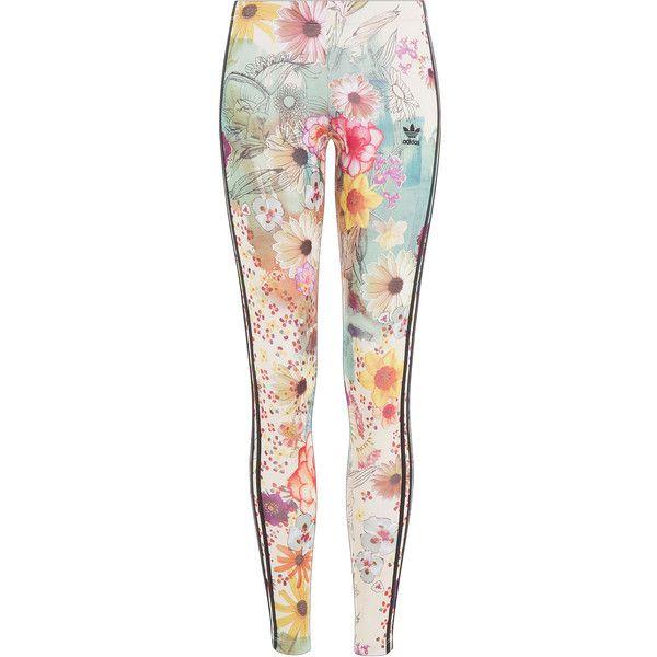 adidas Floral Leggings   Adidas floral, Floral leggings
