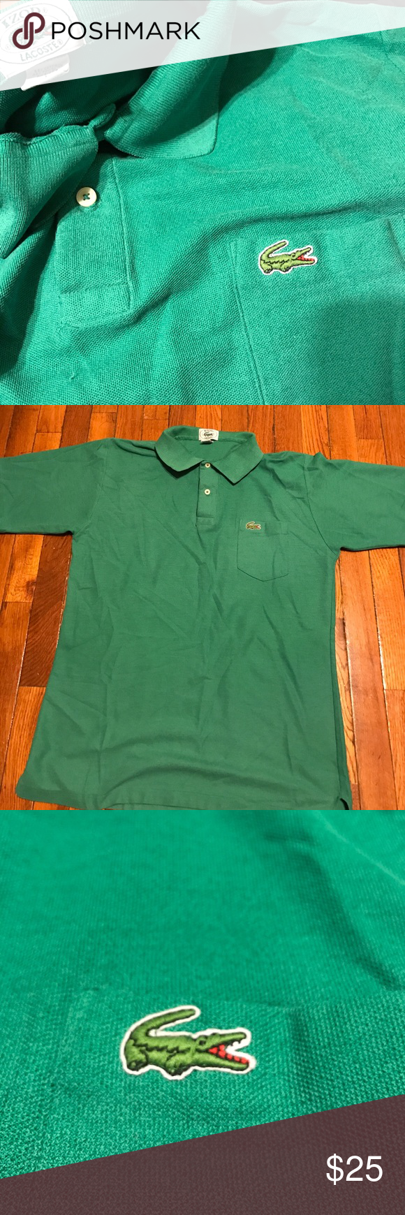 ef1300656b8 Rare Vintage Izod Lacoste polo shirt Vintage Lacoste Lacoste Shirts Polos