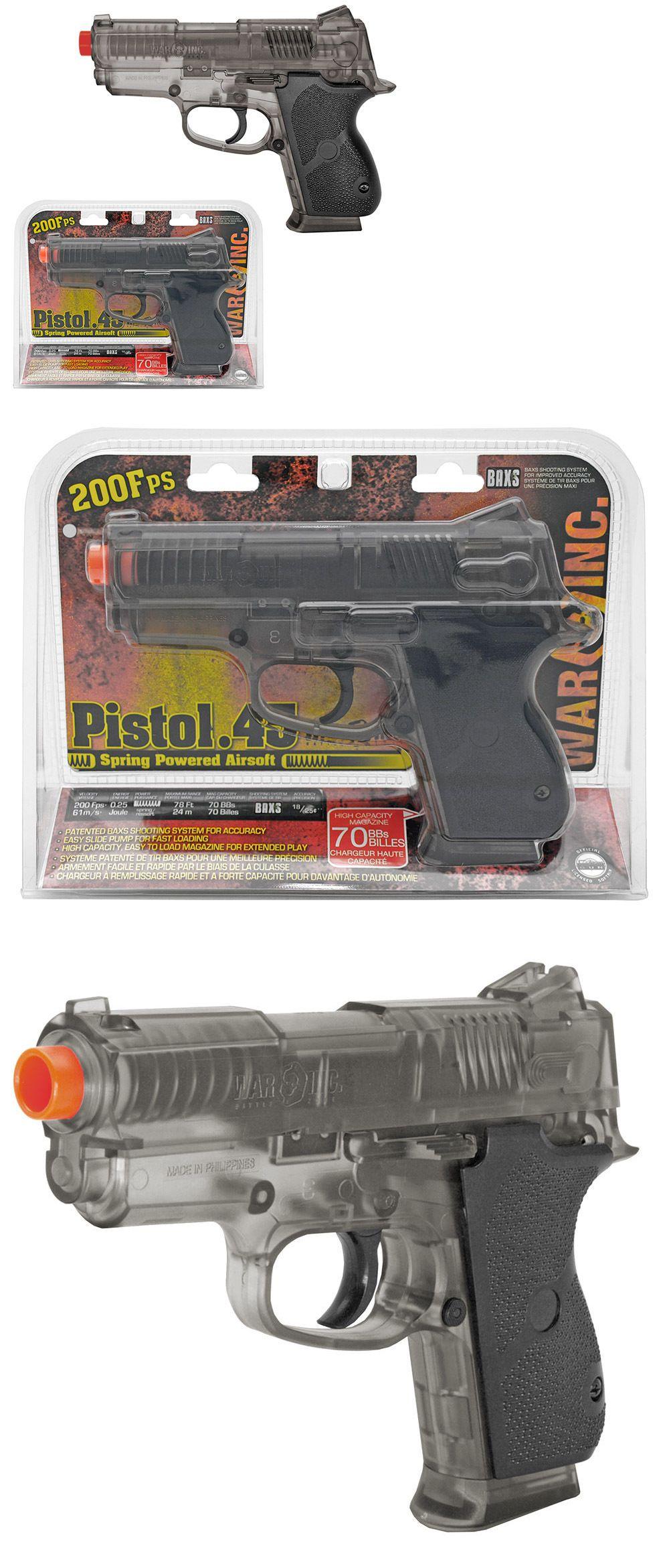pistol 160923 7 full scale airsoft pistol handgun gun w bbs air
