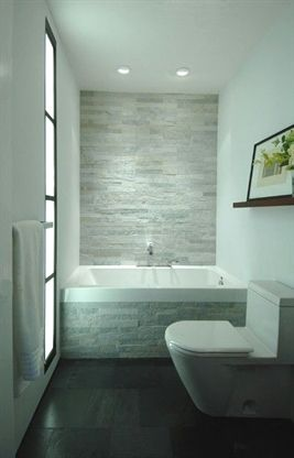 Beautiful small bathroom tile ideas to enhance interior quality fantastic design with white tub grey wall toilet  also