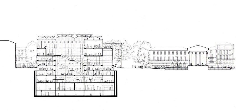 The Building Carré D Art Art How To Plan Building