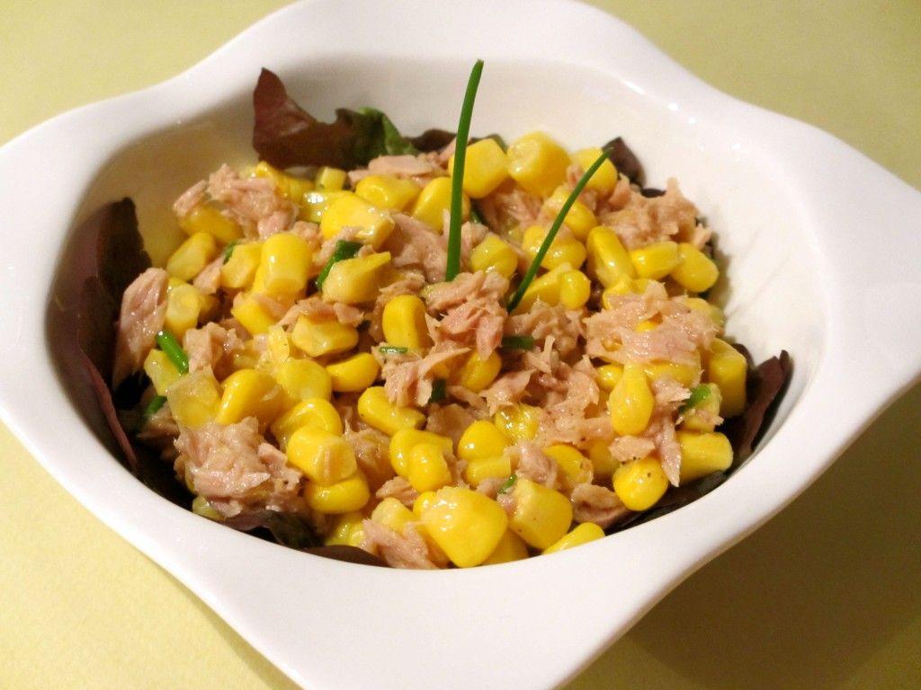 salade de maïs au thon : diet & délices - recettes dietétiques