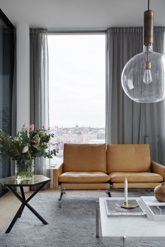 Cortinas para salones modernos salones modernos 2018 salones modernos de belleza salones - Cortinas para salones pequenos ...