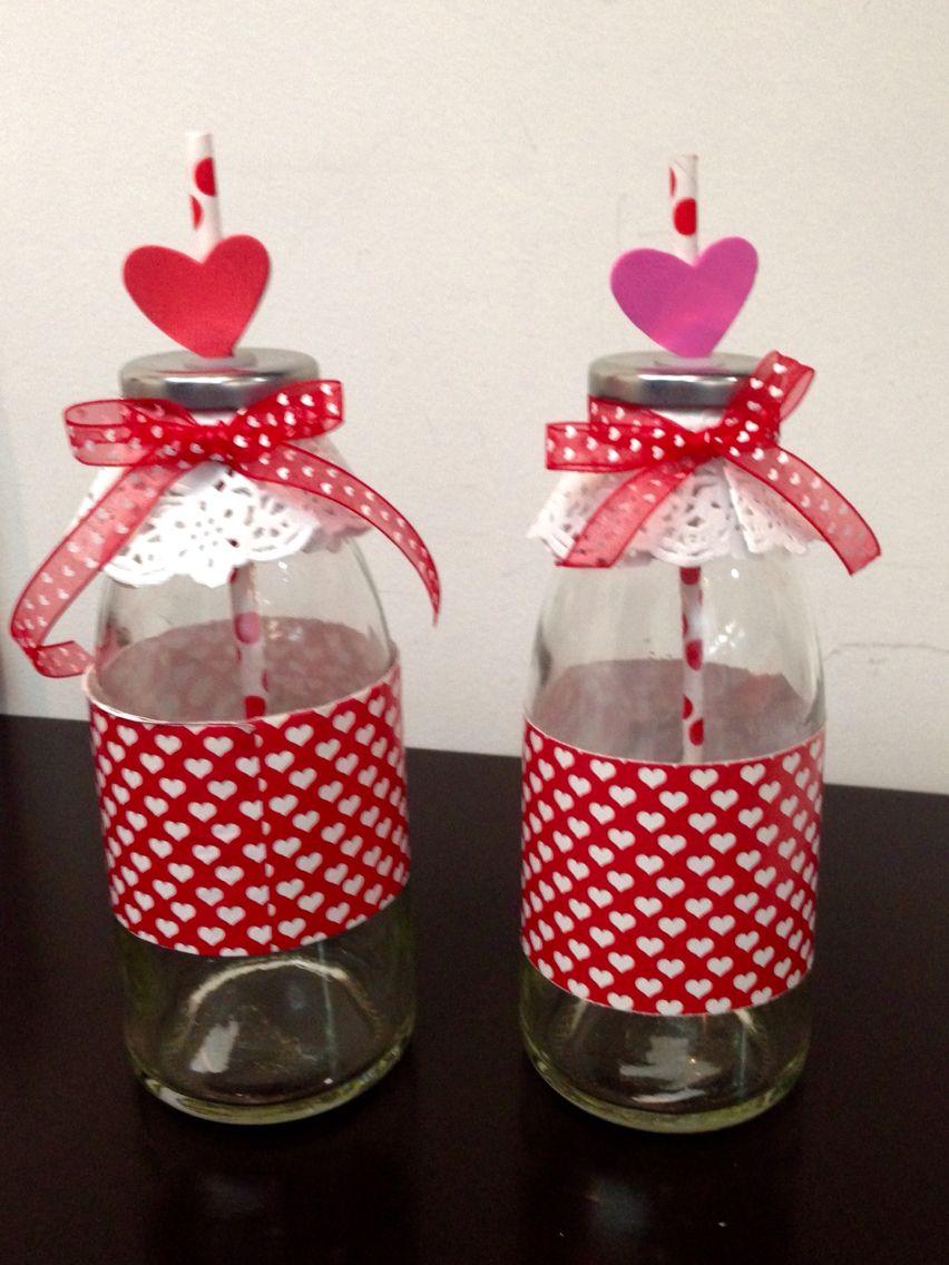 San Valentin Decoration Botellas Decorativas De San Valent N Para Diferentes Bebidas O