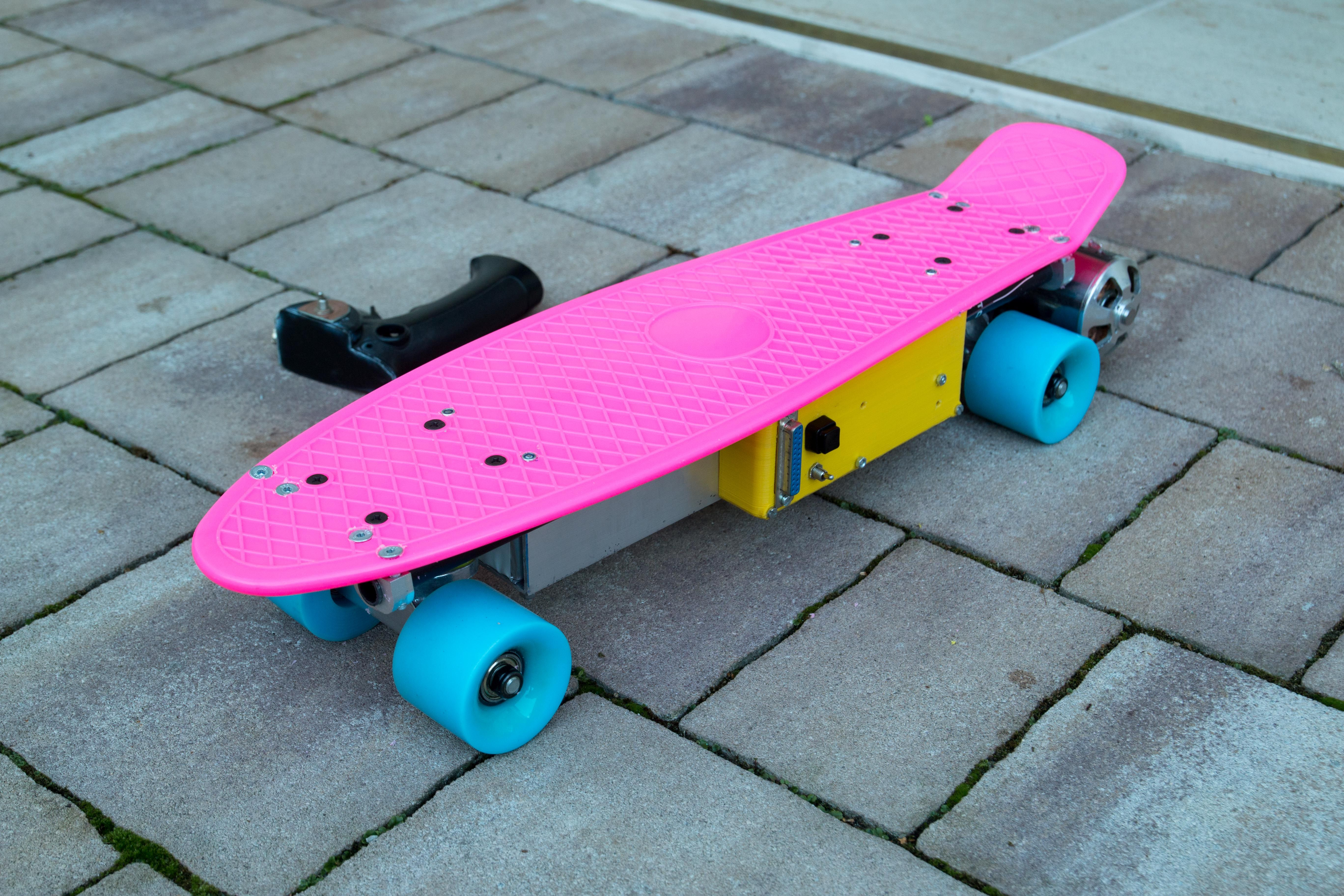 Electric penny skateboard project do it yourself pinterest electric penny skateboard project solutioingenieria Gallery