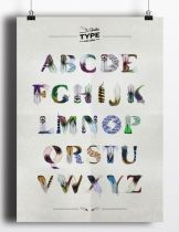Poster Feather Type by Manuel Persa on The Bazaar