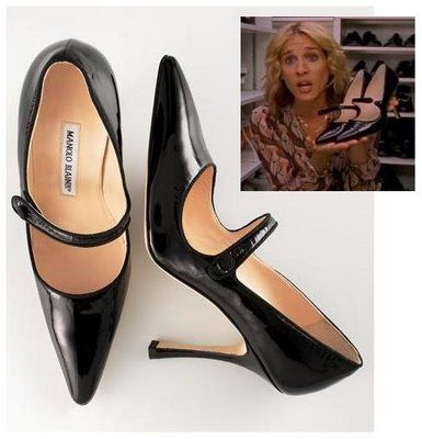 Manolo Mary Janes. Carrie B. agrees
