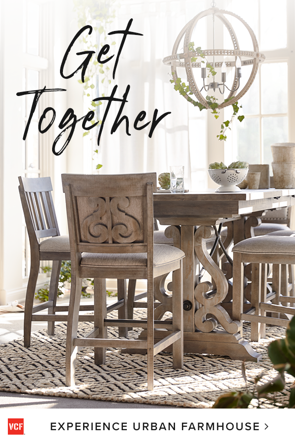 Dining Mixed With Urban Farmhouse Rustic And Grandiose The