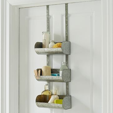 Conveyor shelf over the door organizer westelm my wishlist pinterest door organizer - West elm bathroom storage ...