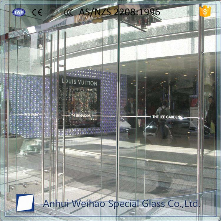 Customized 10mm 12mm Folding Movable Tempered Glass Partition Wall Glass Partition Wall Movable Walls Glass Partition