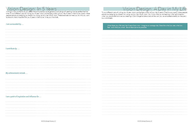 Ultimate Mindset Planner Downloadable