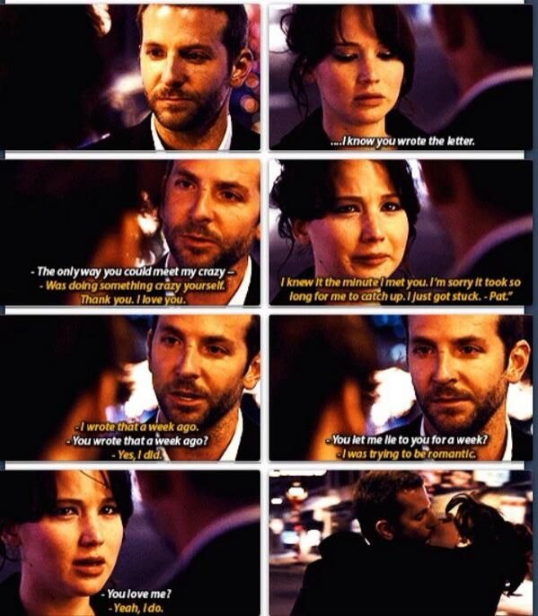 Pin By Treca Baer On Love Faith Inspiration Favorite Movie Quotes Silver Linings Playbook Movie Quotes