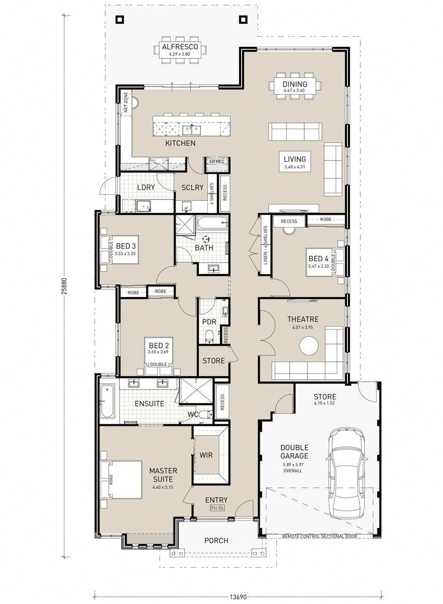 American Dream Homes Mansionshomes Single Storey House Plans House Plans Australia Sims House Plans