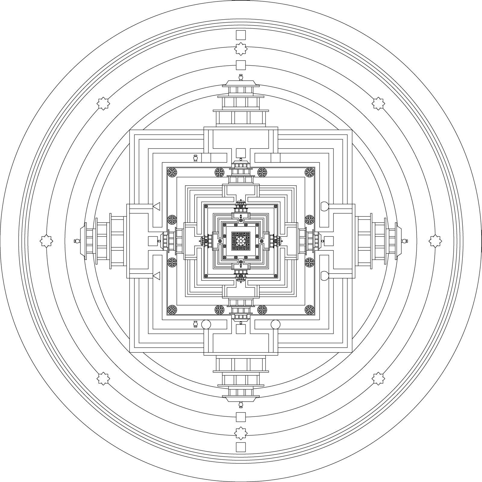 Tibetan Mandala Designs