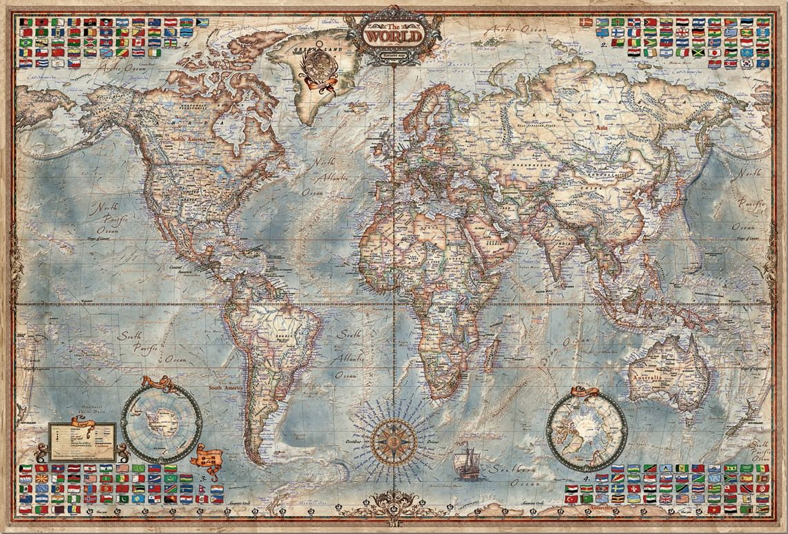 Educa 4000 para puzzle the world executive map puzzle educa 4000 para puzzle the world executive map gumiabroncs Gallery