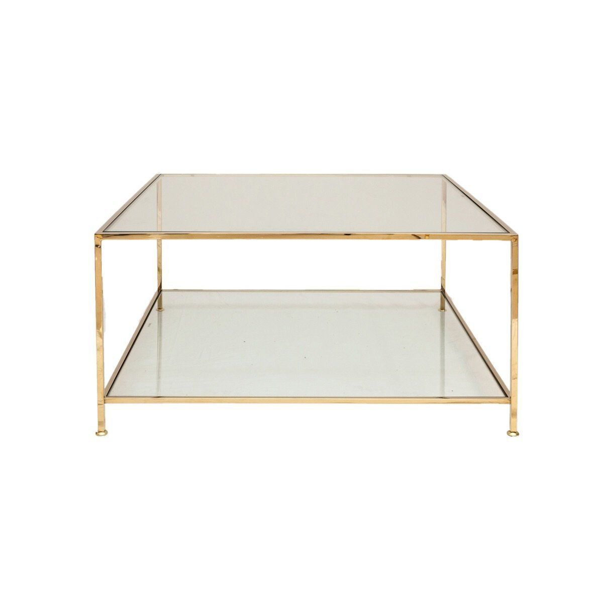 Ruth Joanna Big Square Table In Brass Square Glass Coffee Table Square Tables Tempered Glass Table Top [ 1200 x 1200 Pixel ]