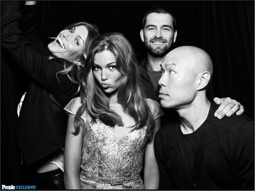 Banshee stars – Ivana Milicevic, Lili Simmons, Antony Starr and Hoon Lee – Source: PEOPLE/Comic Con