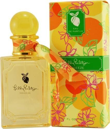 Lilly Pulitzer Squeeze By Lilly Pulitzer For Women Eau De Parfum Spray 3.4 Oz by Lilly Pulitzer. $18.03. Recommended Use: casual. Fragrance Notes: pink grapefruit, lychee, lotus blossom, sun-drenched woods, water musk red currant, wild rose. Design House: Lilly Pulitzer. LILLY PULITZER SQUEEZE by Lilly Pulitzer for Women EAU DE PARFUM SPRAY 3.4 OZ pink grapefruit, lychee, lotus blossom, sun-drenched woods, water musk red currant, wild rose. Save 73% Off!