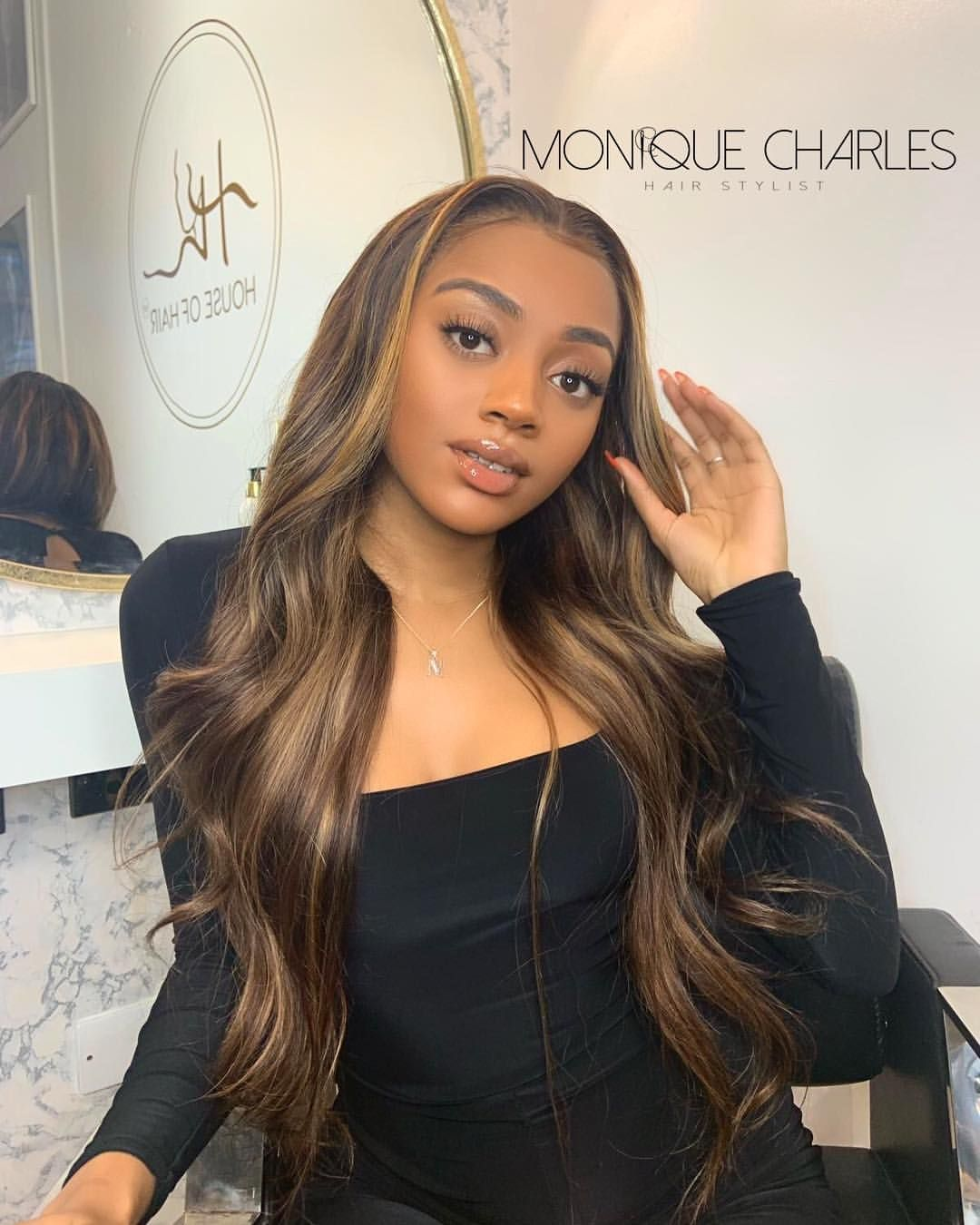 Highlights The Mckayla Unit Available To Purchase In A Full Lace Wig Or Custom Made Fron Honey Brown Hair Toner For Blonde Hair Front Lace Wigs Human Hair