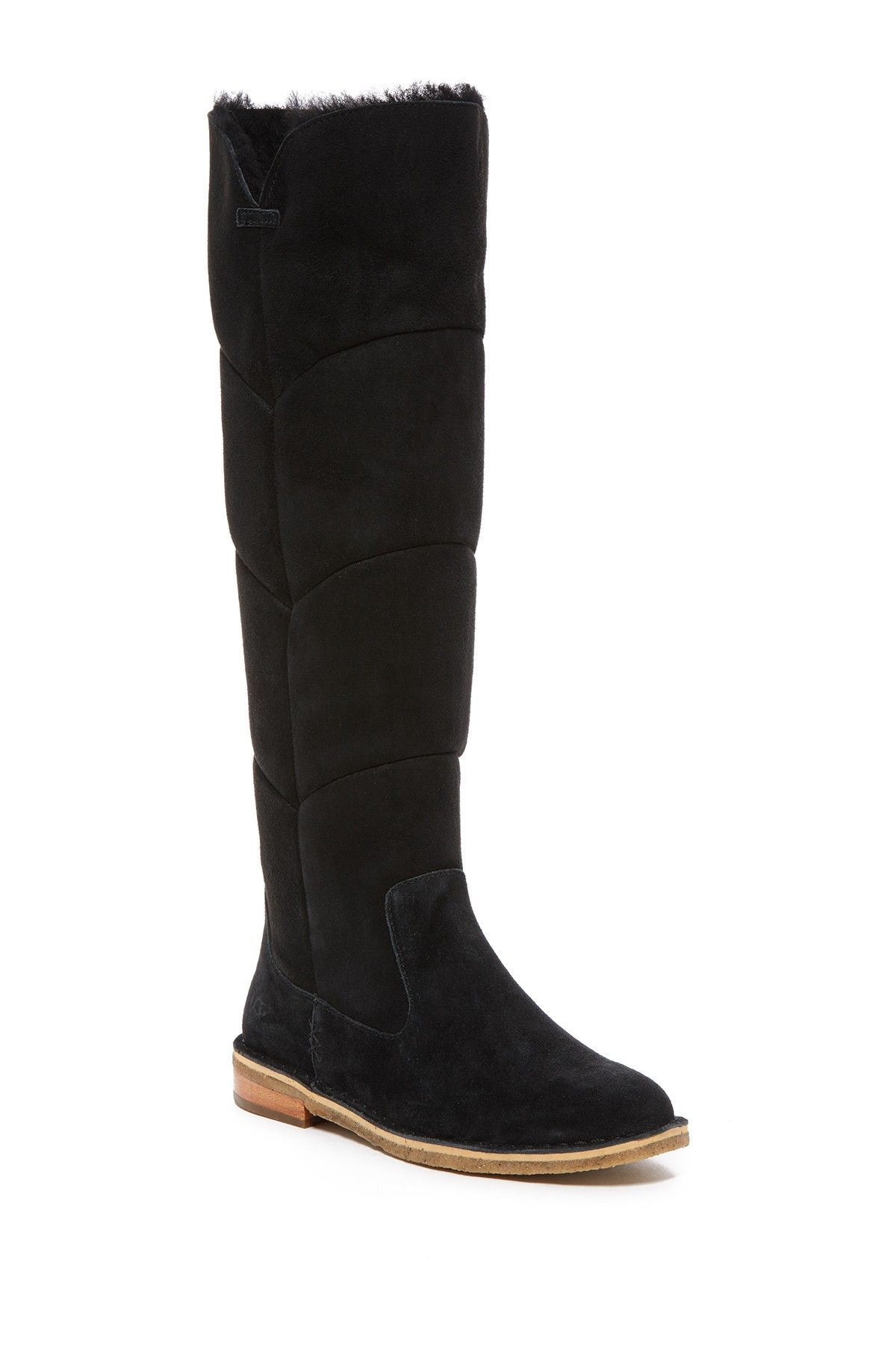 c9cd14178d2 Samantha Genuine Shearling Over The Knee Boot | clothes i <3 | Uggs ...