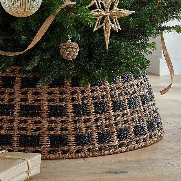 Karina Woven Tree Collar + Reviews Crate and Barrel