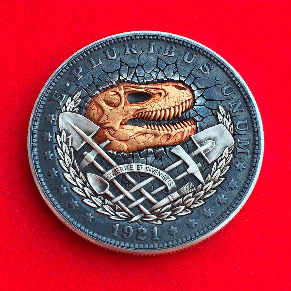 Hobo Nickels: Pop Culture Coins by Roman Booteen | Art
