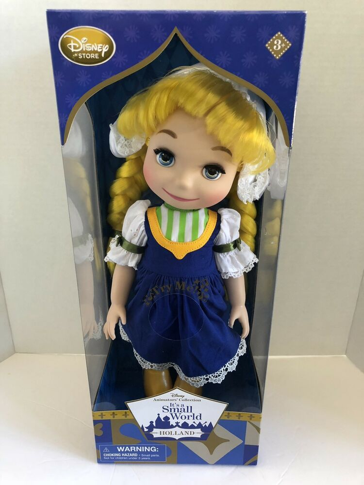 DISNEY ANIMATORS COLLECTION...SMALL WORLD DOLL...HOLLAND.. NEW IN BOX