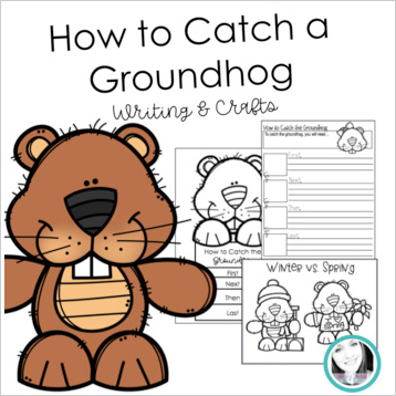 How To Catch A Groundhog Writing Craft In 2020 Writing Crafts Cool Writing Writing Steps