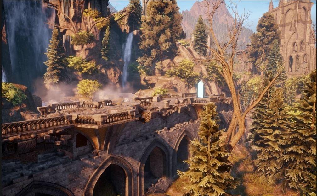 Elven Ruins (Trespasser) Dragon Age Wiki Dragon age