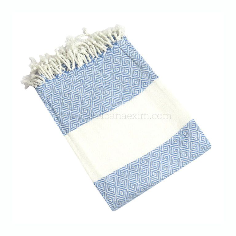 Here Is Blue And White Striped Turkish Towel We Offer A