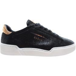 Photo of Ghoud Sneakers Frau Lob 02 Woman Low Salv Black Gold Ghōud Venice