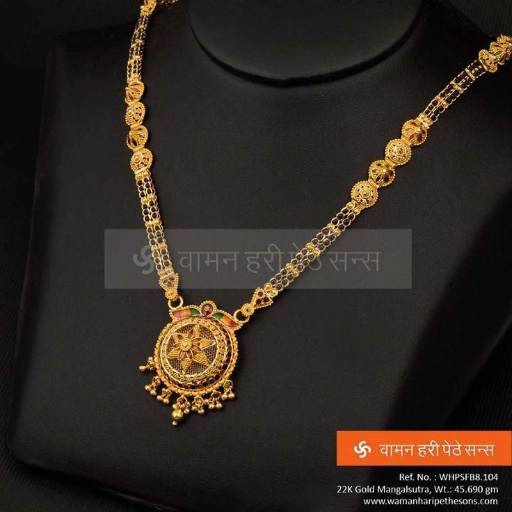 Image result for heavy mangalsutra design   jewellary   Pinterest ...
