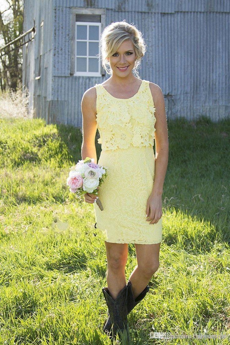 cheap in stock lace mini short bridesmaid dresses convertible