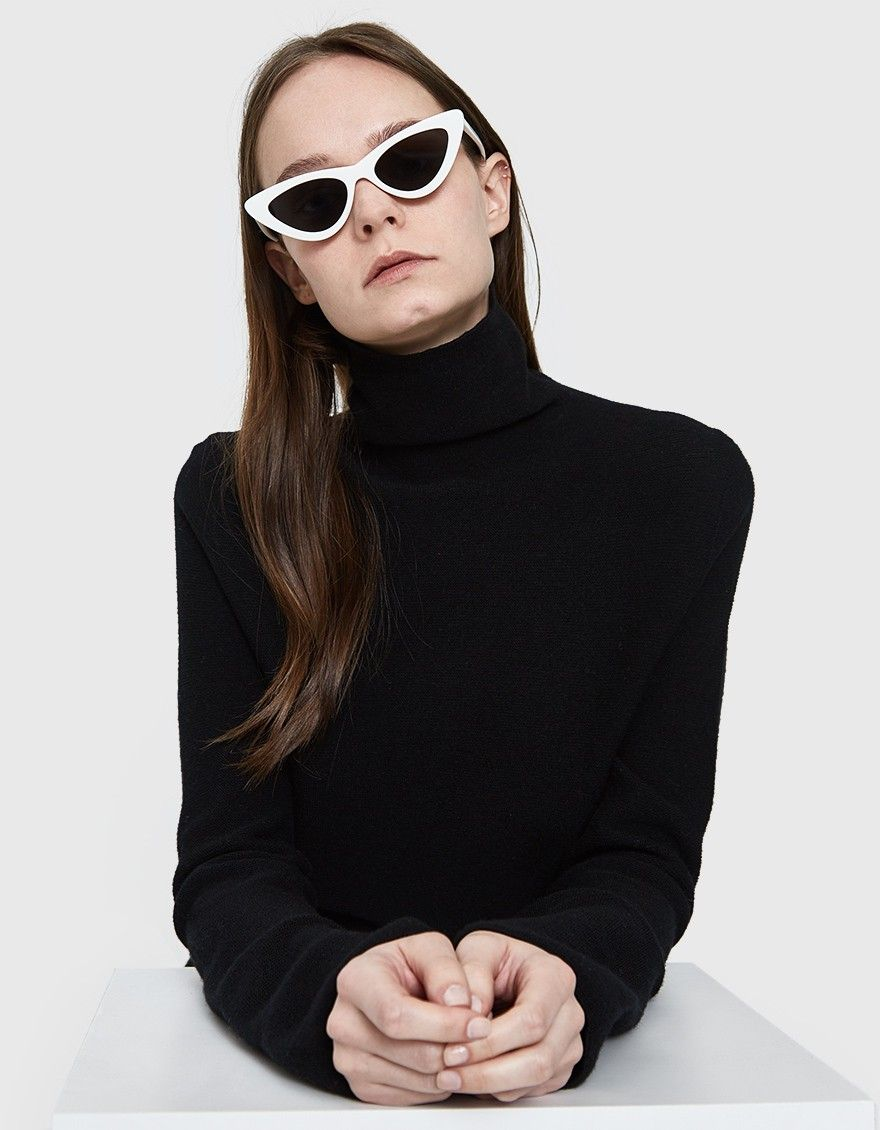 3792f15327 Cat eye sunglasses from Le Specs in collaboration with Adam Selman
