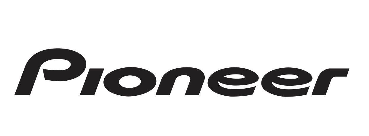 2x Pioneer Sticker Aufkleber Autocollant Pegatinas Car
