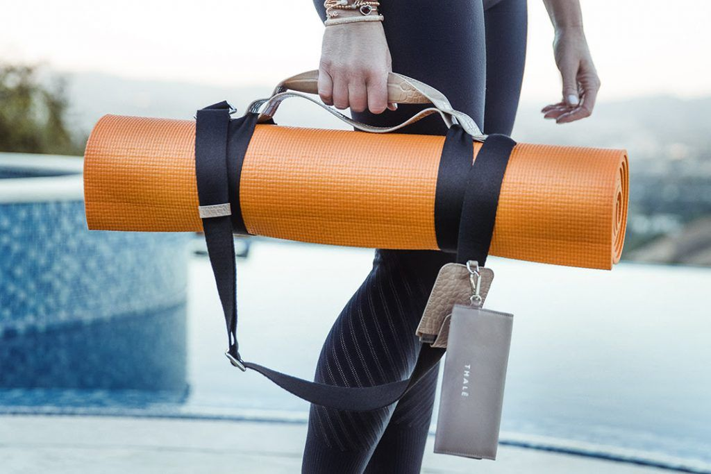 Fit for the holidays yoga mat strap favorite things