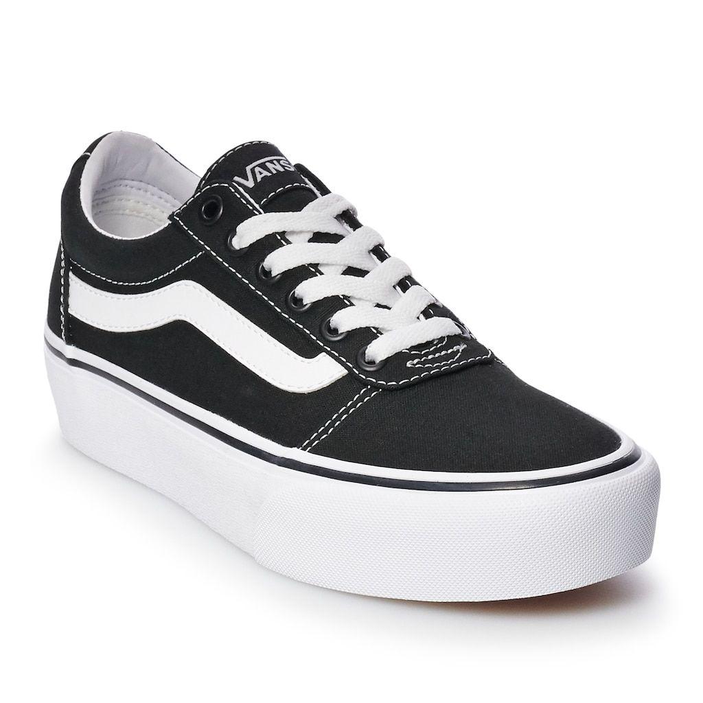 Vans Ward Women s Platform Skate Shoes 26c3271353