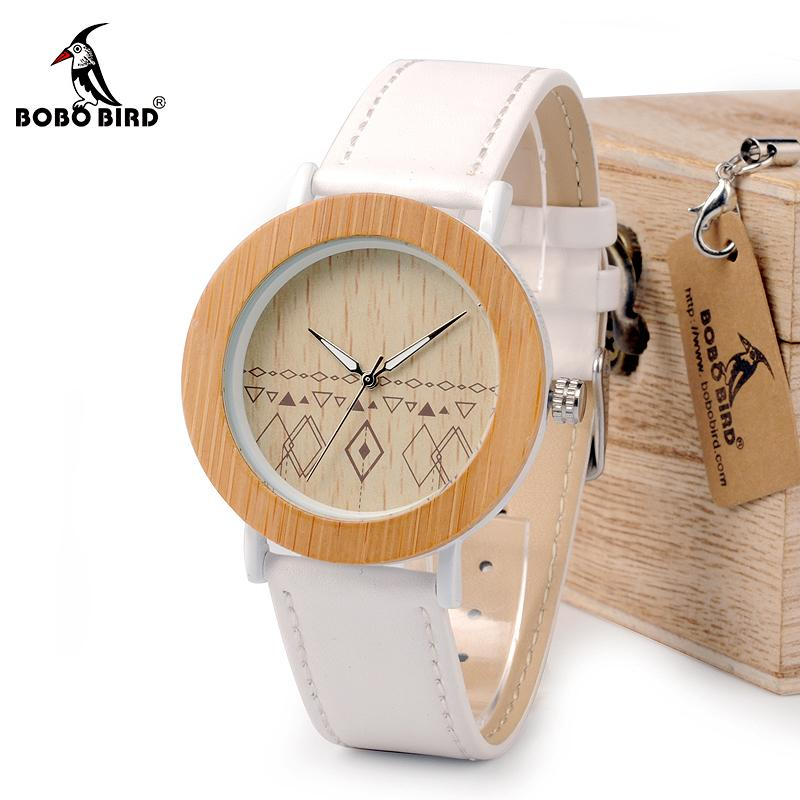 a98f1c0c21d0 BOBO BIRD Unisex Top Brand Designer Wristwatches For Women Nature Bamboo    Steel Watches in Gift Boxes.