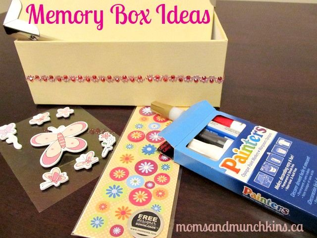 Memory Box Ideas For Kids Crafts Diy Projects That I Love