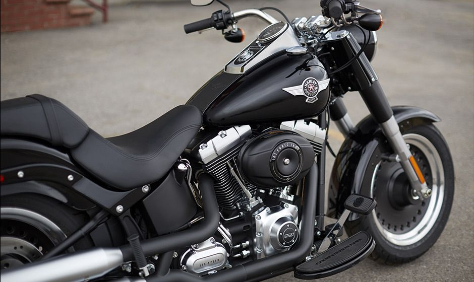 2014 Harley-Davidson® Softail® Fat Boy® Lo Motorcycles Photos & Videos