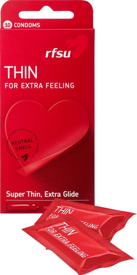 RFSU Thin kondomi, kondomit verkkokauppa
