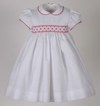 Patrones para vestidos de punto smock