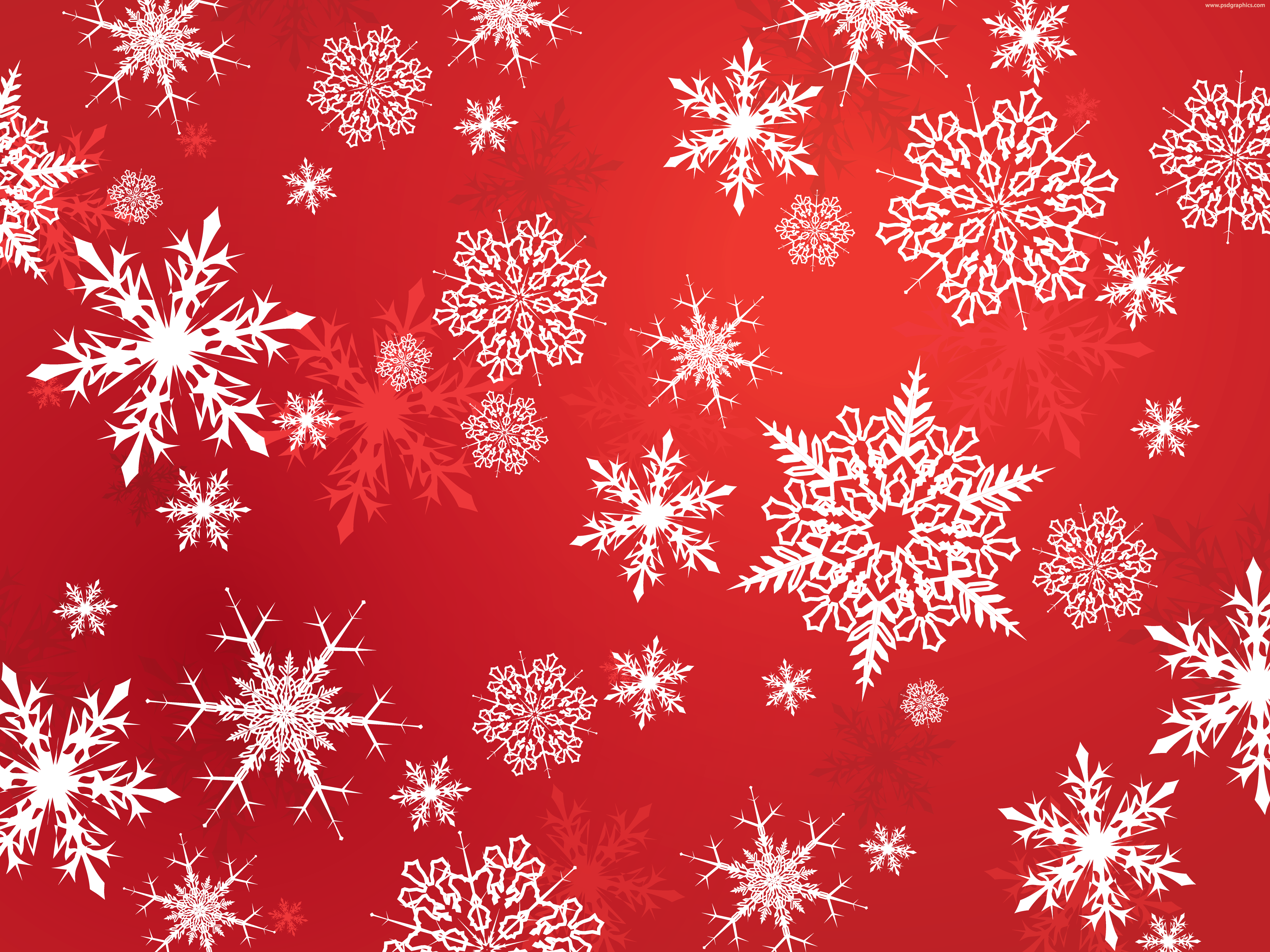 Vector snowflakes background PSDGraphics Snowflake