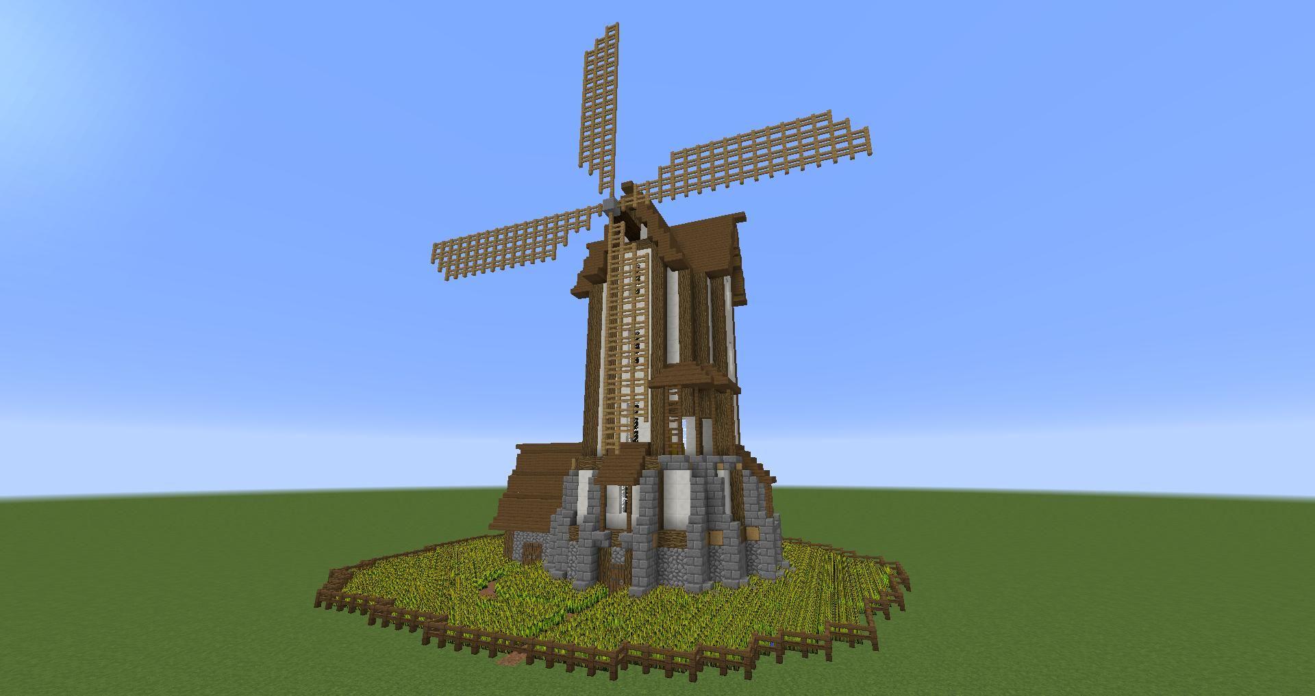 Minecraft Simple Windmill