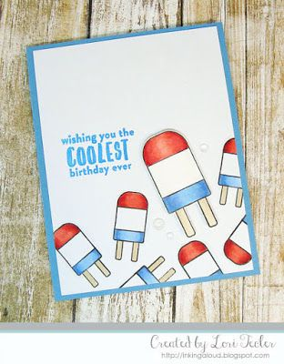 The Coolest Birthday Ever Card Designed By Lori Teclerinking Aloud